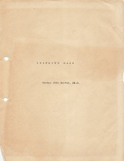 Original Manuscript Cover
